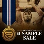 SteelFit Veteran's Day Sample Sale