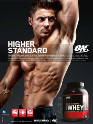 Steve Cook Optimum Nutrition