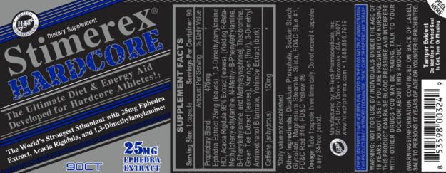 Stimerex Hardcore Label