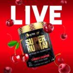 SuperHuman Pre Workout Cherry Popper