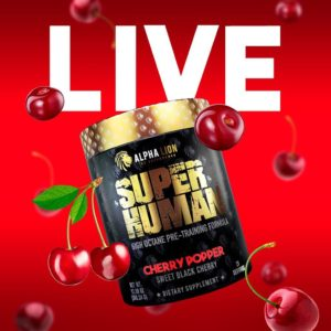 SuperHuman Pre Workout Cherry Popper