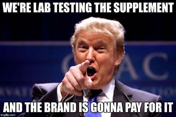 Supplement Lab Tests