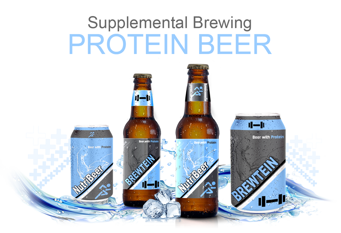 protein beer try to keep your gains this weekend it was only a matter of time before some fitness oriented person found the perfect marriage between protein and beer