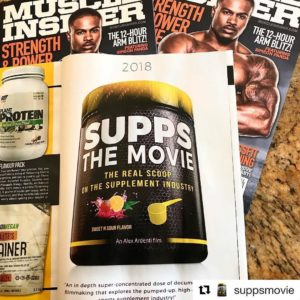 Supps: The Movie Magazine Ad