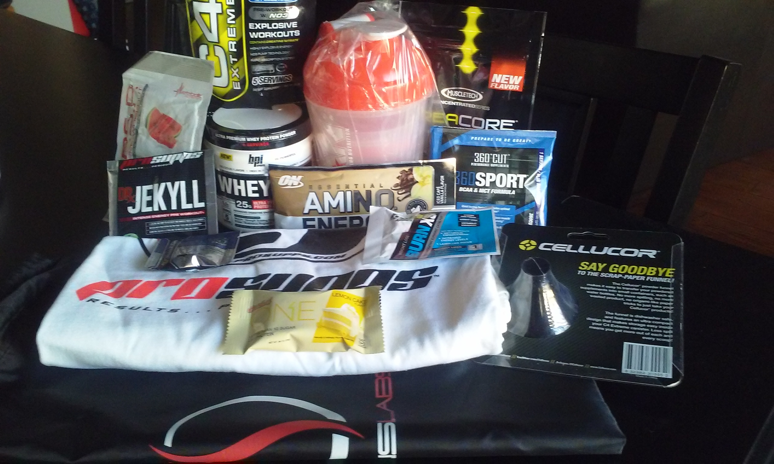 This Suppz Swag Bag Is Loaded