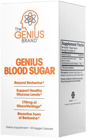 The Genius Brand Genius Blood Sugar