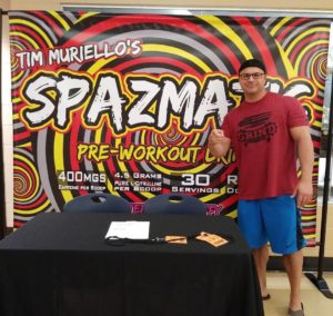 Tim Muriello Spazmatic Sign