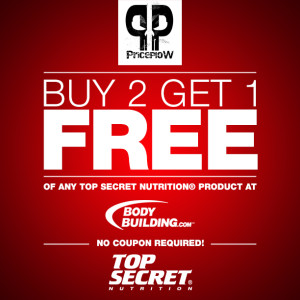Top Secret Nutrition - 10% Off Coupon at Bodybuilding.com!