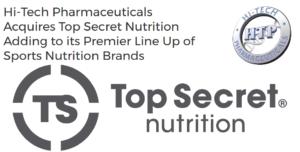 Top Secret Nutrition Hi-Tech Pharmaceuticals