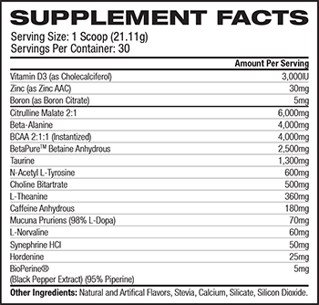 Transparent Labs PreSeries Bulk Ingredients