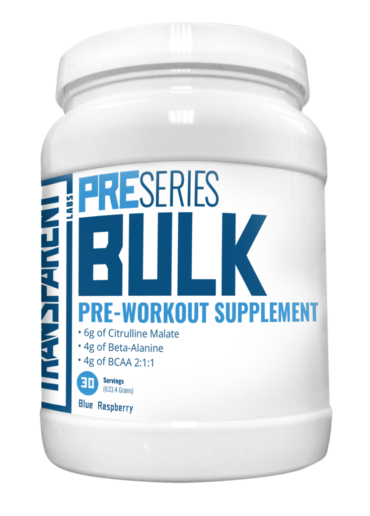 Transparent Labs PreSeries Bulk