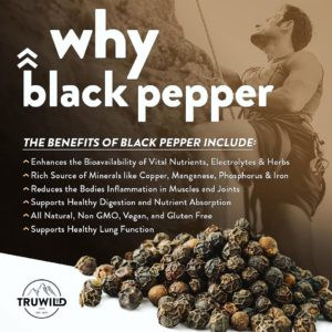 TRUWILD Black Pepper