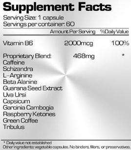 Ubervita W700 Ingredients