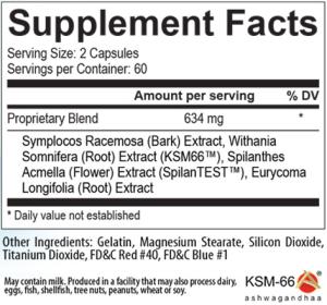 Ultimate-T Ingredients