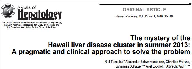 USPLabs Liver Toxicity Case Study