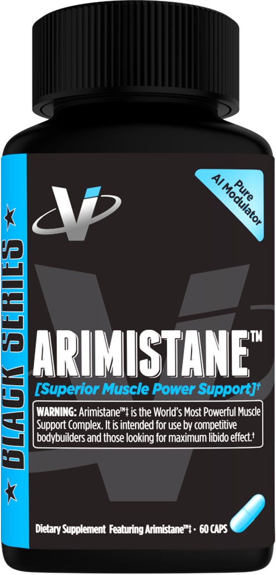 Keep estrogen in check and testosterone high with VMI's patented aromatase inhibitor Arimistane.