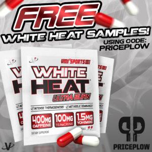 Free Sample of VMI Sports WHITE HEAT Fat Burner!