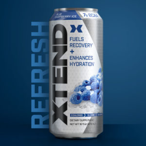 Xtend Carbonated Blue Raspberry