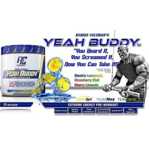Yeah Buddy comes in three flavors, two of which aren't utilized all that often in supplements. Which will you choose?