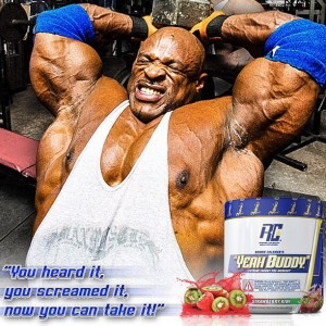 WIll Ronnie's new pre workout have you screaming YEAH BUDDY after your workout?!