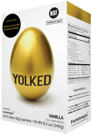 Yolked NSF Certified for Sport
