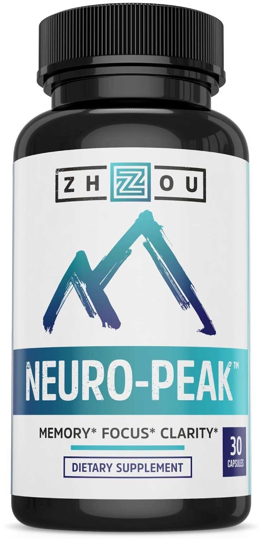 Zhou Neuro Peak Amazon S 20 Nootropic For Beginners